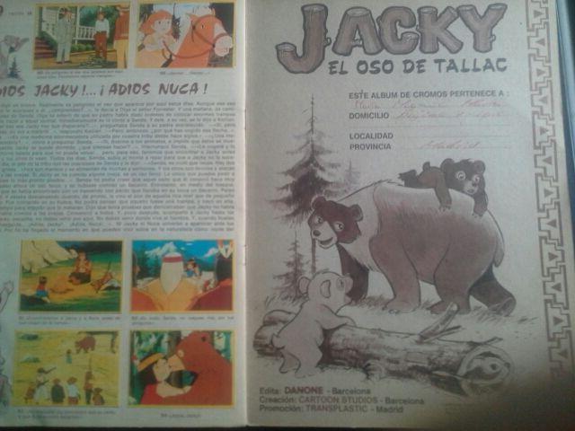 Album Jacky el oso de Tallac