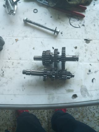 caja de cambios pit bike