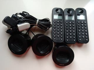 teléfono trio inalambrico Philips