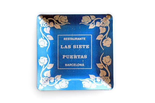 Cenicero Publicidad Restaurante Las Siete Puertas