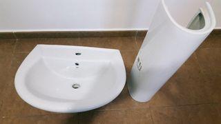 Lavabo y pedestal Gala