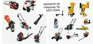 reparación de de todo tipo de maquinaria