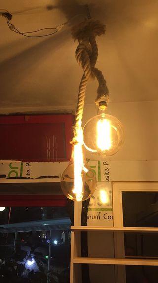 Lámparas colgantes, apliques de pared