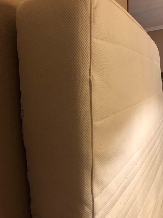 Colchón sultán vicolastico + látex 135x190