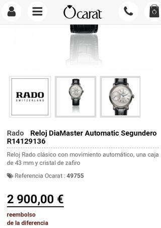 d2c1143c519e Reloj automático de segunda mano en la provincia de Alicante en WALLAPOP