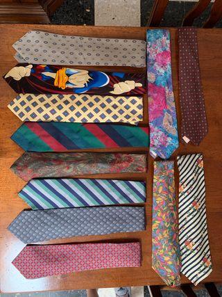 Lote corbatas hombre