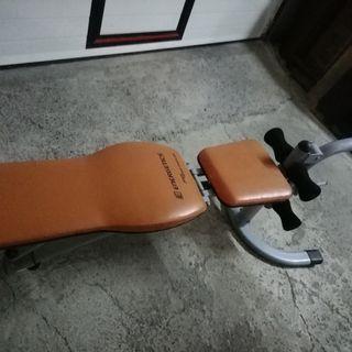 se vende banco de ejercicios y musculacion