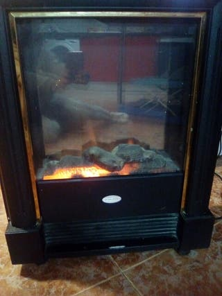 estufa de aire caliente o ventilador