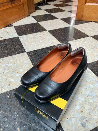 Zapato tacón azafata