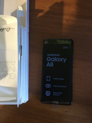 Samsung Galaxy A8 2018 Duos 32/4 impoluto