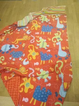 Funda nórdica infantil + dos fundas cojines