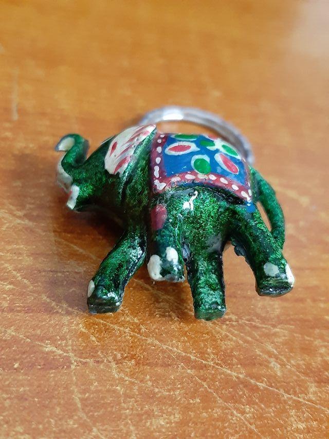 Llavero Animal Elefante (Tailandia)