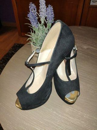 Zapato Lolita Blu
