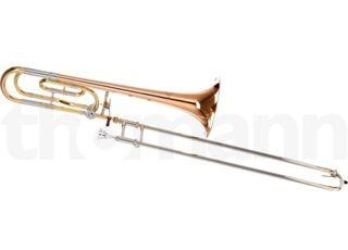 Trombón de vara con transpositor