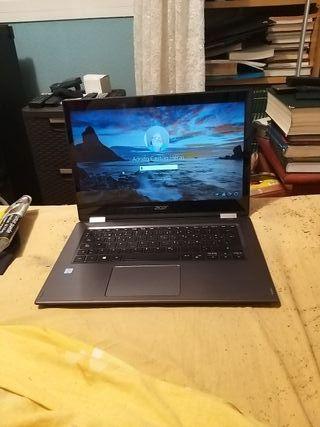 """ordenador portátil Acer Spin 14"""" tactil"""
