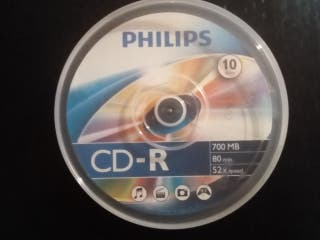 Tarrinas 10 CD y 10 Mini CD