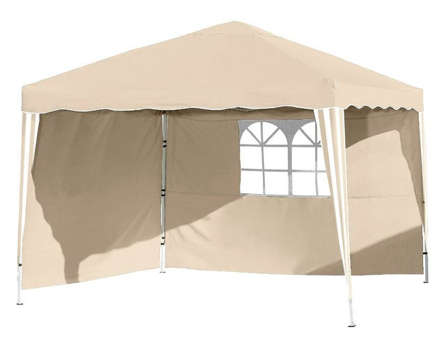 CARPA 3X3m PLEGABLE + 2 LATERALES