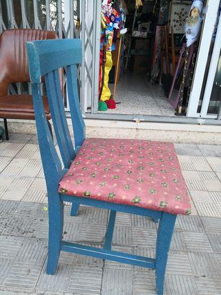 antiguas sillas. buena calidad disponibles 6