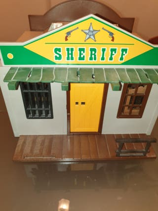 Maletin Playmobil Bank Sheriff