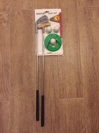 Set de golf de juguete
