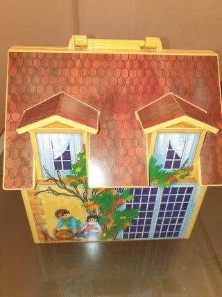 Maletin Playmobil Casa de Muñecas