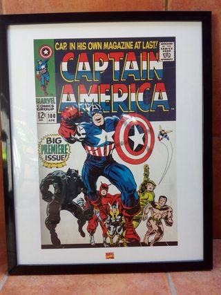 "Cuadro ""Captain America"""
