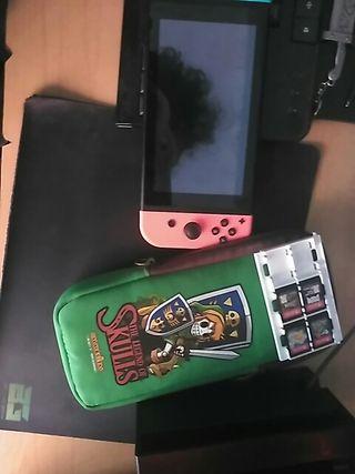 Switch (+funda +4 juegos)