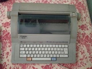 Máquina de escribir Canon