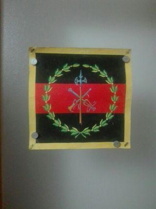 Emblema de la Legion en Acuarela. Unico.