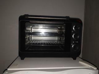 horno eléctrico con grill
