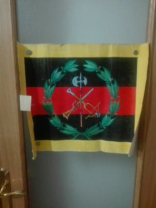 Acuarela Grande Legión. Epoca Franco.