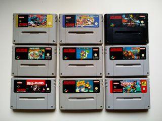 Super Nintendo - Juegos
