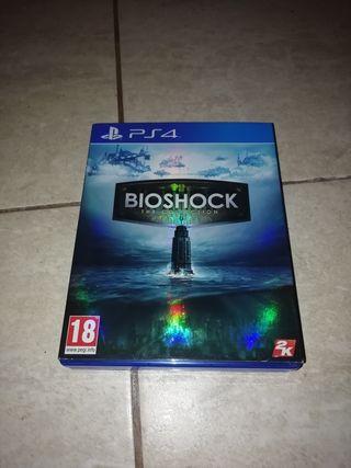 Bioshock the collection ps4 (3 juegos en 1)