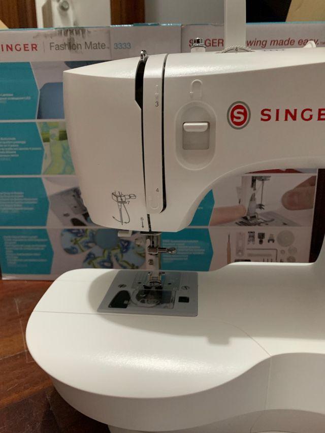 Máquina de coser Singer Fashion Mate 3333 de segunda mano
