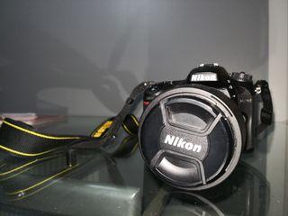 Equipo fotográfico nikon