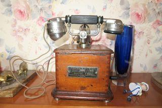 Telefono antiguo thomson Houston , es frances