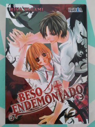 Manga Beso endomoniado (rina yagami)