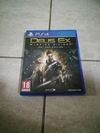 DEUS EX PARA PS4!
