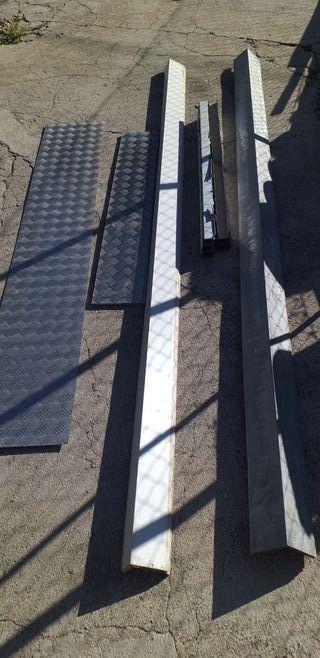 Perfiles Tejado Chapa,U de inox placas de aluminio