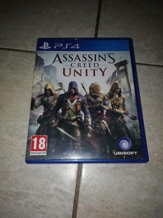 ASSASSINS CREED UNITY PARA PS4!