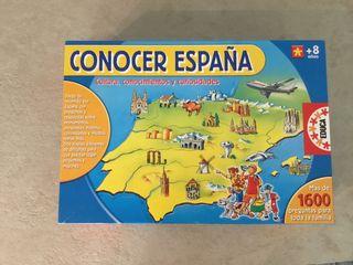 Juego conocer España