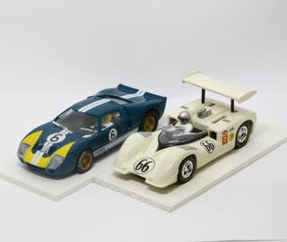 Lote Chaparral GT y Ford GT 40 (Scalextric)
