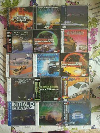CDs Initial D música
