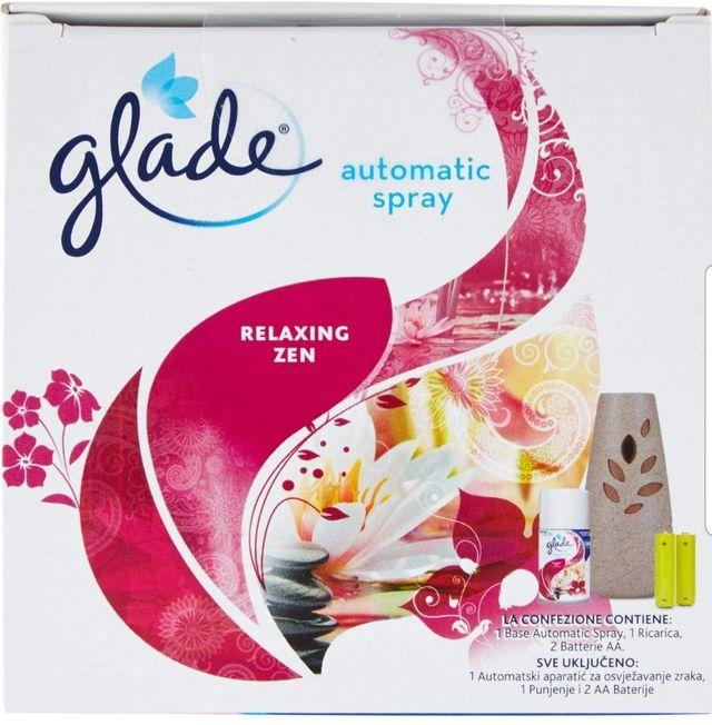 Ambientador. Glade Automatico spray, regulable.