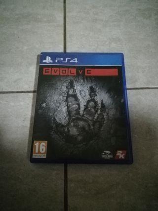 EVOLVE PARA PS4!
