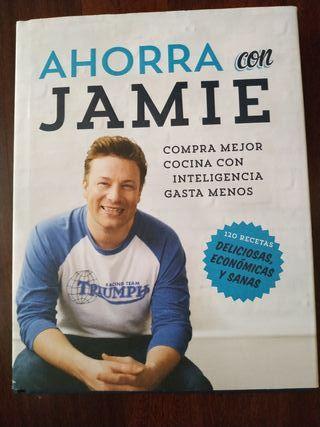 Libro de cocina Ahorra con Jamie
