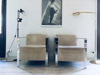 Butaca sillón diseño bauhaus nórdico danés