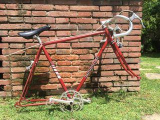 Cuadro antiguo bicicleta