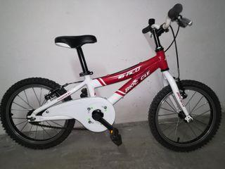 "Bicicleta Niño Biocycle Cuadro 16"" Aluminio"