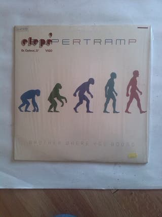 SUPERTRAMP BROTHER WHERE YOU BOUND LP